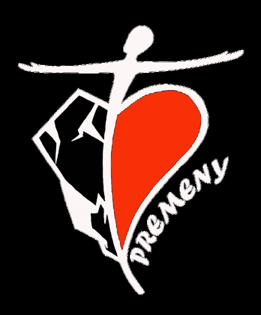 Diecézne centrum mládeže Premeny Važec logo biele