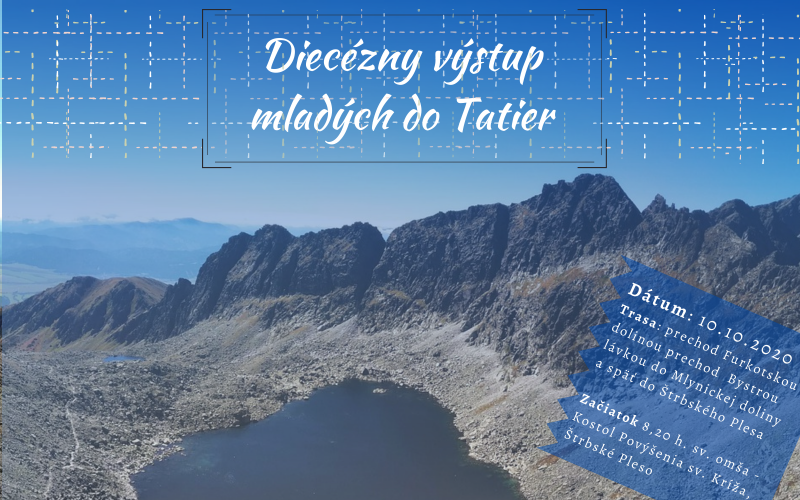 Diecézny výstup mladých do Tatier